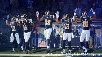 USA Bürgerrechte Proteste wegen Ferguson Football St. Louis Rams