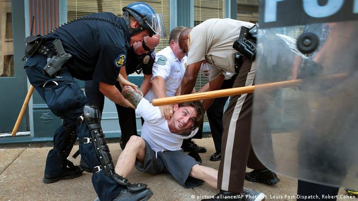 Symbolbild Polizeigewalt in den USA