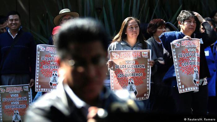 Демонстрация в Мехико