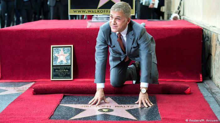 Stern auf dem Walk of Fame für Christoph Waltz