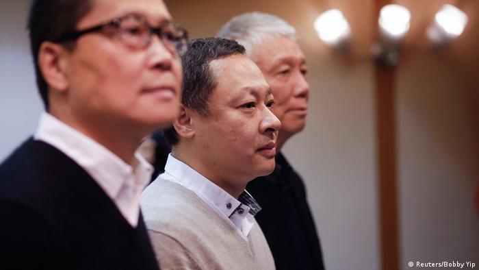 Hong Kong's Occupy Central founders