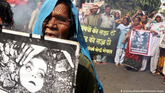 Bhopal Indien Gas Chemiekatastrophe Explosion