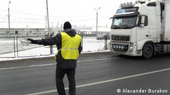 Таможенный контроль со стороны России на российско-белорусской границе