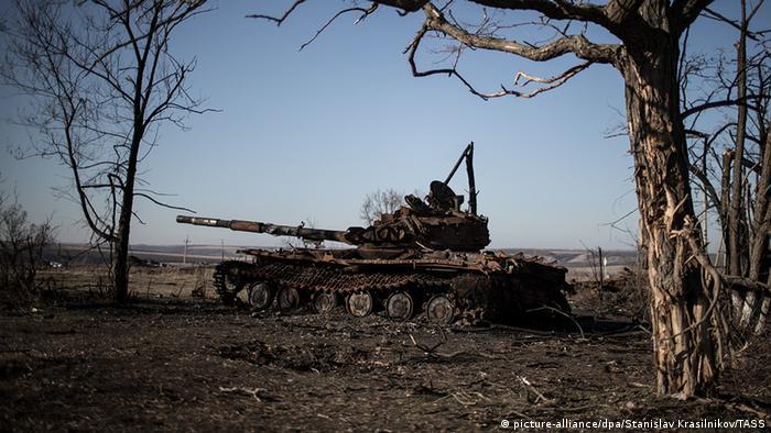 Symbolbild Waffenruhe Lugansk Ukraine Russland Konflikt