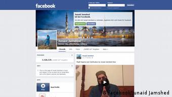 Junaid Jamshed's Facebook page
