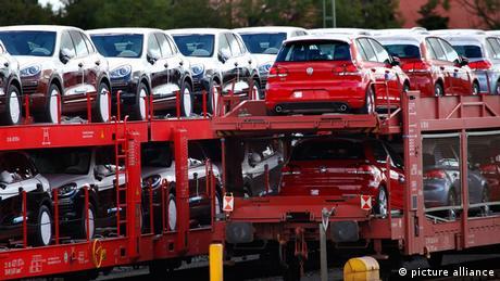Symbolbild Deutsche Autoindustrie (picture alliance)