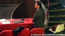Kapitän der Costa Concordia Francesco Schettino vor Gericht 2.12.2014