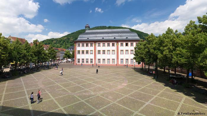 Alte Universität und Universitätsplatz in Heidelberg (Fotolia/eyetronic)
