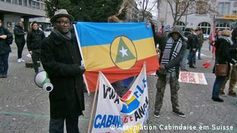Demo für die Unabhängigkeit Cabindas