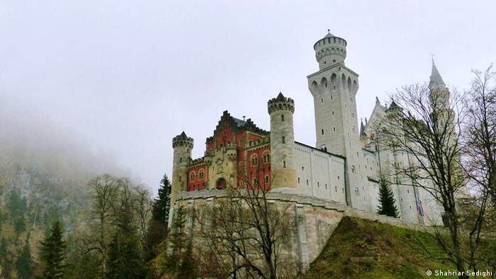 Castelo medieval e mitos alemães