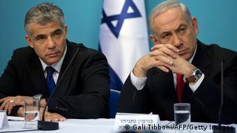 Israel Koalition Netanjahu und Lapid (Gali Tibboni/AFP/Getty Images)