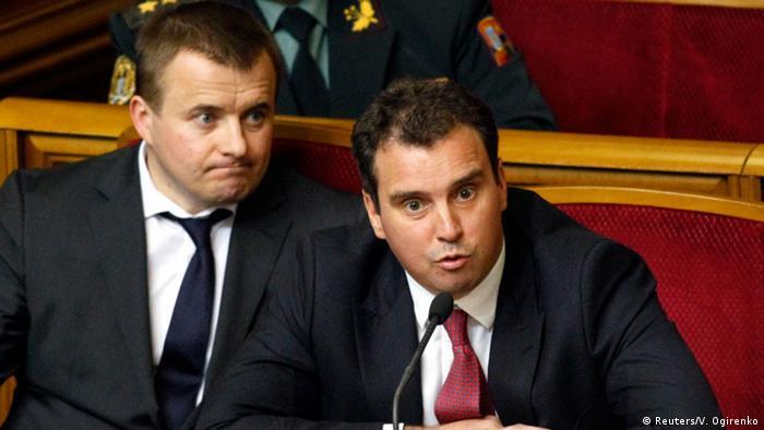 Айварас Абромавичус (праворуч)