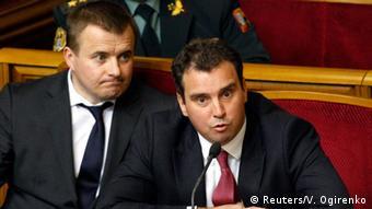 Новий міністр економіки України, литовець Айварас Абромавичус (п.) є партнером інвестиційної компанії East Capital, основним полем діяльності якої є країни колишнього СРСР