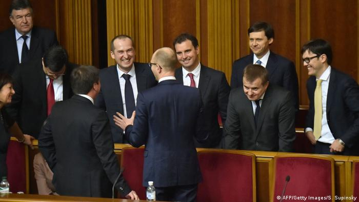 Ukraine neues Parlament 2.12.2014