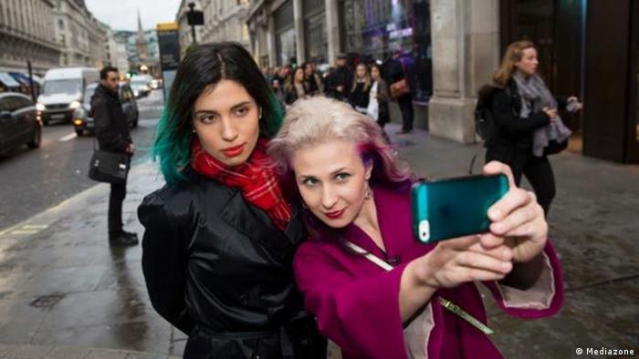 Pussy Riot in London Großbritannien 11.2014