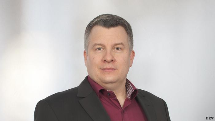 Ingo Mannteufel, chefe da redação russa da DW