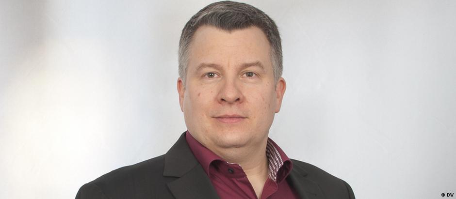 Ingo Mannteufel, chefe da redação russa e do Departamento Europa da DW