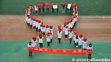 AIDS Day at Liaocheng China Welt AIDS Tag