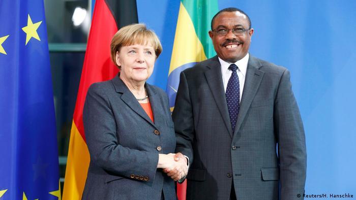 Merkel und Desalegn 03.12.2014