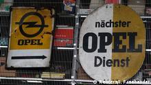 Opel Werk Bochum Schließung 02.12.2014 Opel Museum in Herne