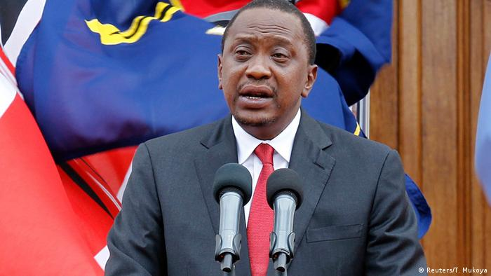 Kenia Präsident Uhuru Kenyatta in Nairobi
