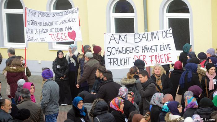 Tugce A. Trauerfeier in Wächtersbach 03.12.2014