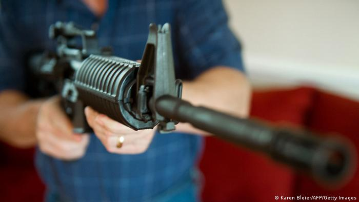 Symbolbild - USA Waffenlobby NRA Messe Gewehr (Karen Bleier/AFP/Getty Images)