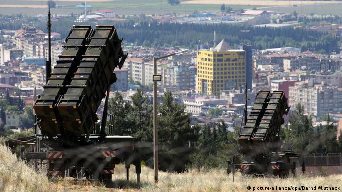 Зенитный комплекс Patriot в Турции