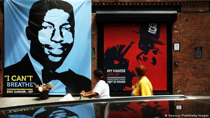 New York Gedenkplakat Eric Garner Michael Brown