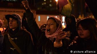 new york proteste, schwarze, polizist garner grand jury