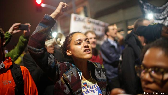New York USA Proteste 4.12. Eric Garner
