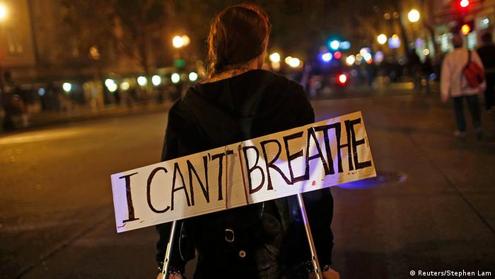 New York USA Proteste 4.12. Eric Garner