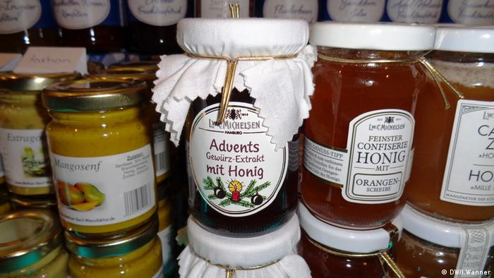 Мед, конфитюр, горчица