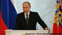 Putin Rede an die Nation 04.12.2014