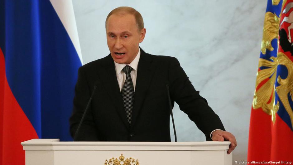 لغة جسد الرئيس بوتين عكس ما كنا نتوقع   DW   11.12.2014