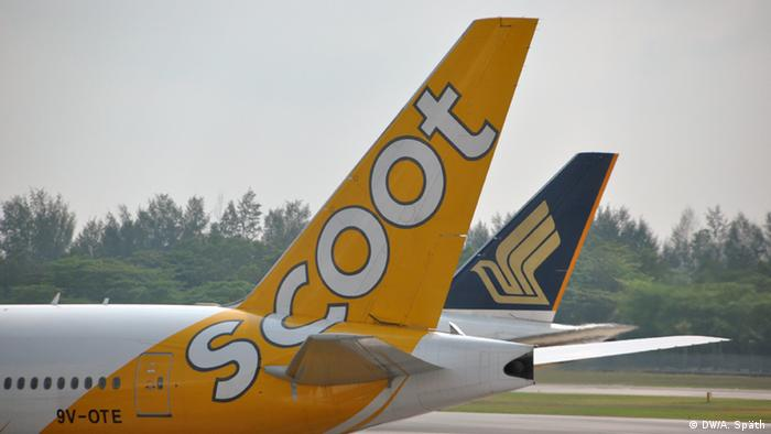 Flugzeug - Airline Scoot