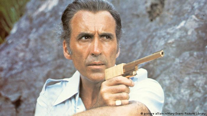 Christopher Lee was The Man with the Golden Gun Francisco Scaramanga - the archetypal Bond assassin.