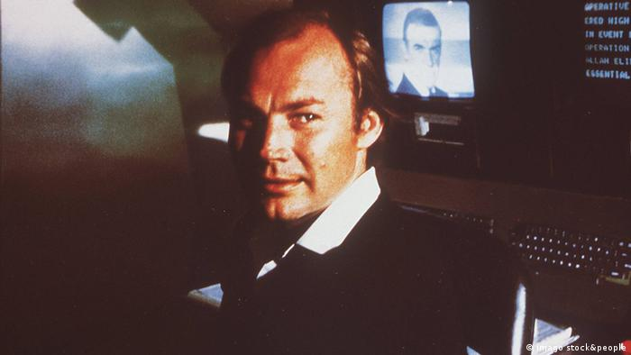 Klaus Maria Brandauer plays Maximillian Largo in Never Say Never Again.