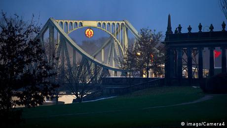 Puente Glienicke (durante el rodaje en 2015)