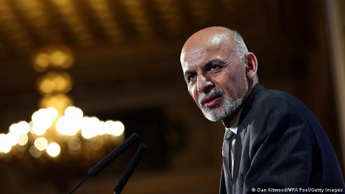 Afghanistan's President Ashraf Ghani speaks to delegates and ministers during the London Conference on Afghanistan on December 4, 2014 in London, England (Photo: Dan Kitwood - WPA Pool/Getty Images)