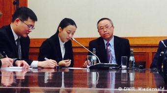 Menschenrechtsdialog Deutschland China