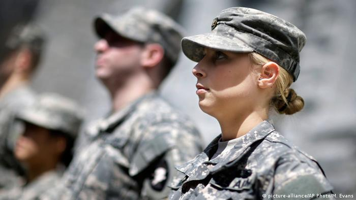 Women soldiers in the US army