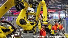 Deutschland Industrie Produktion bei Porsche