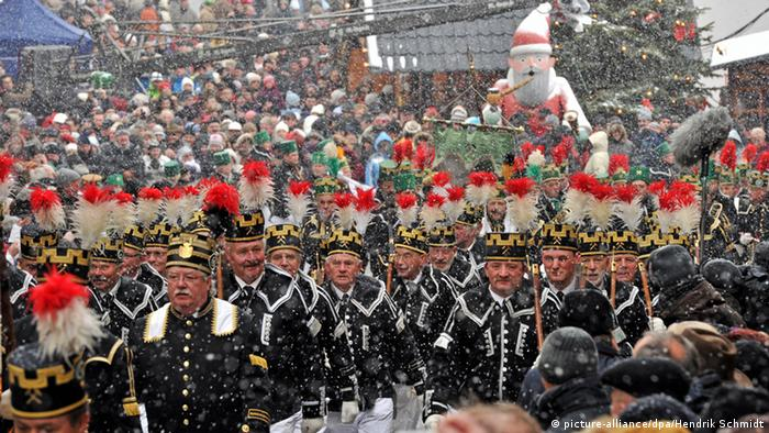 Miners' Parade in Annaberg-Buchholz,