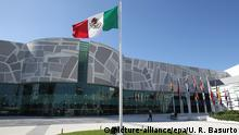 epa04515115 View of the World Trade Center, venue of the upcoming XXIV Ibero American Summit, in Mexican port of Veracruz, 04 December 2014. The event will be held on next 08 and 09 December. EPA/Ulises Ruiz Basurto