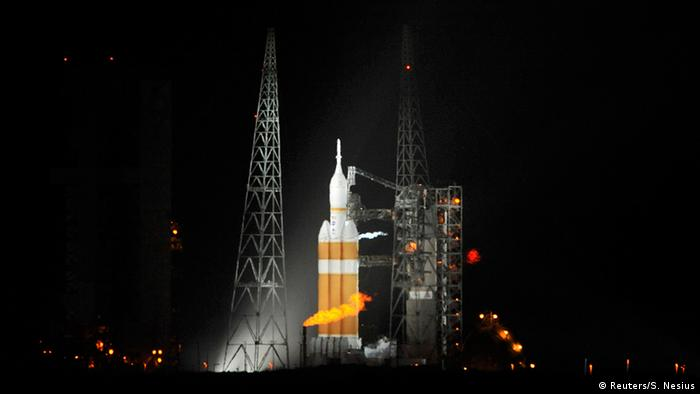 USA Raumfahrt Orion vor dem Start in Cape Canaveral (Reuters/S. Nesius)