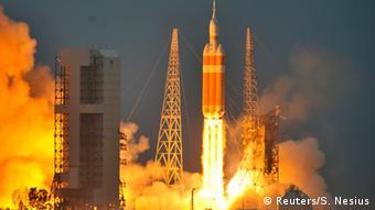 Тестовый полет корабля Orion, декабрь 2014
