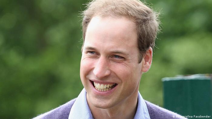 Prinz William im Port Lympne Wild Animal Park (Reuters/Ina Fassbender)