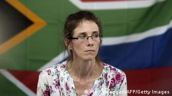 Yolande Korkie pictured after her release in January 2014