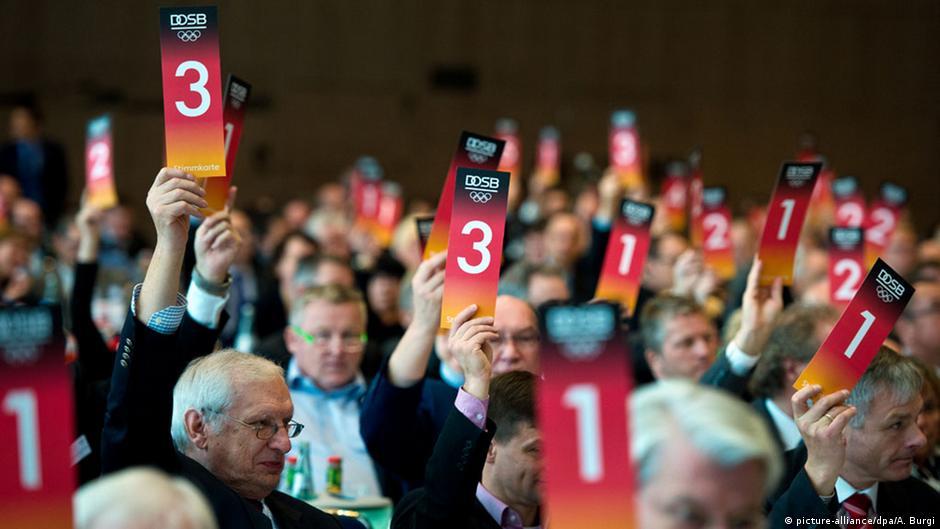 ألمانيا توافق رسميا على الترشح لاستضافة أولمبياد 2024 | DW | 06.12.2014